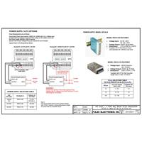 PE725 4 Point Annunciator Power Supply & FC Options