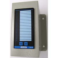 PE20 Alarm Annunciator with Wall Mount
